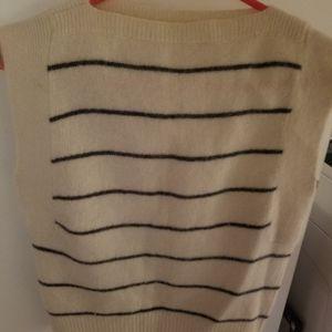 Angora sweater vest